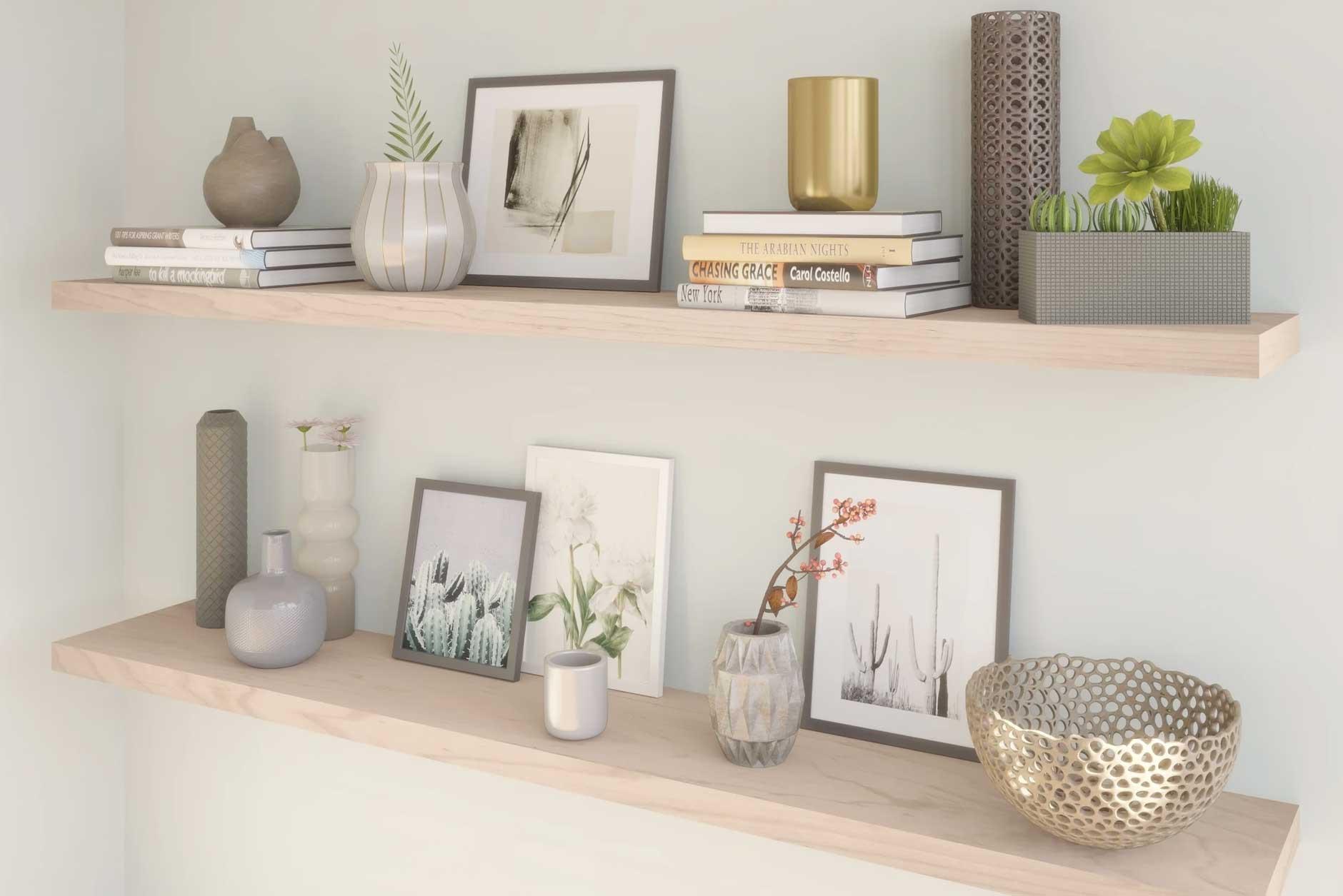3 saveta kako stilizovati svoj prostor zidnim policama
